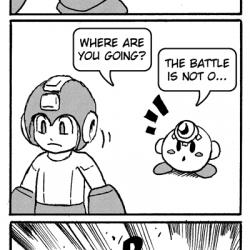 Mega Man vs Kirby Added