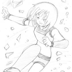 Delia sketch Added