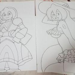 Iris sketches