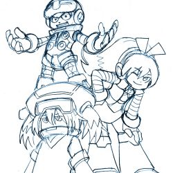 Mighty No. 9 group pic
