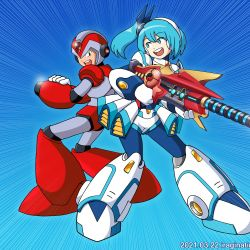 RiCO and X (Rising Fire Ver.) – Rockman X DiVE