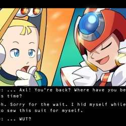 White Day Axl – Rockman X DiVE