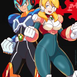 X and Alia – Rockman X Dive Added
