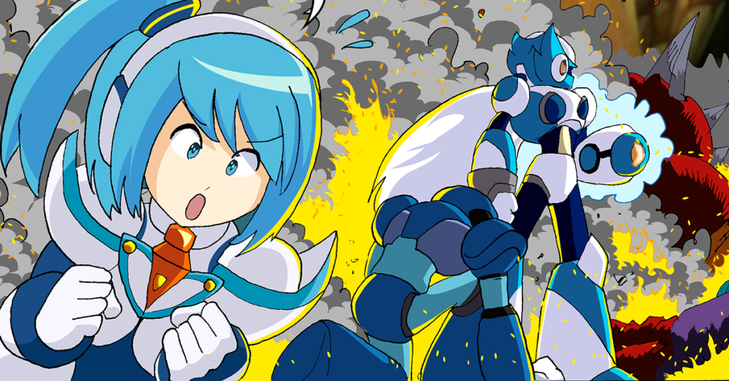 Rockman X DiVE Closed Beta Test COMIC!