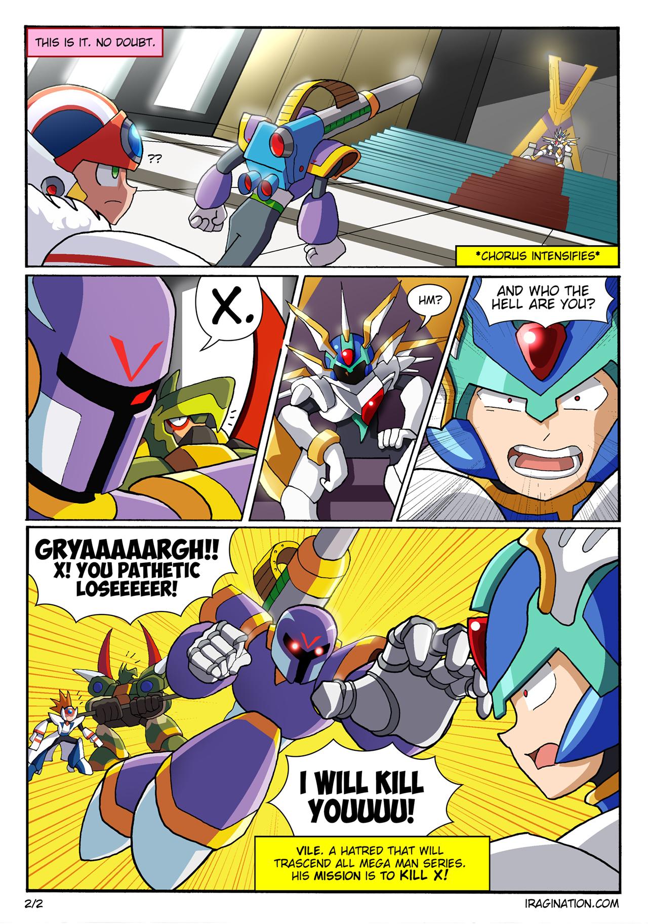 Vile comic - Page 2